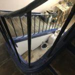 cage d escalier boite aux lettres renovation paris 86