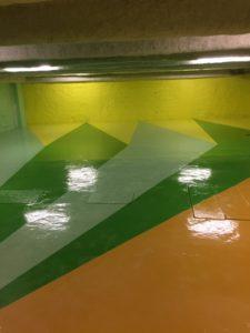 parking privé paris 3 rénovation revêtement sols et murs (29)