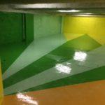 parking privé paris 3 rénovation revêtement sols et murs 30